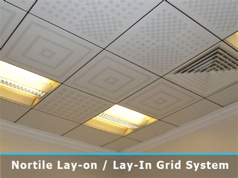 Exposed Ceiling Grid by Profex Metal Ceilings Layin System