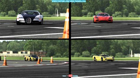 Saleen S7 Vs Bugatti Forza 4 Bugatti Vs Koenigsegg Vs Ssc Vs Saleen Hd
