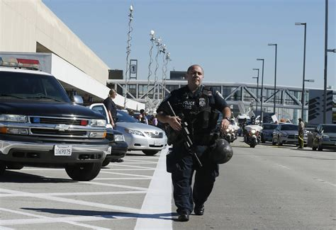Shooting L by Respond To Fatal Shooting At L A Airport