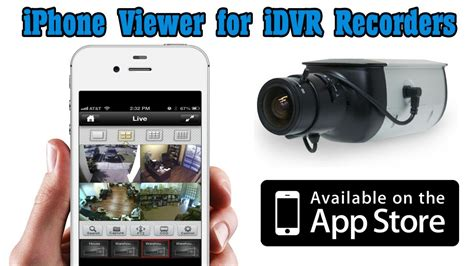 iphone dvr viewer app for cctv surveillance