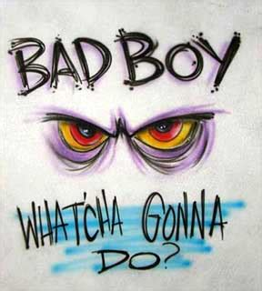 boys bad design bad boy t shirt design the t shirt