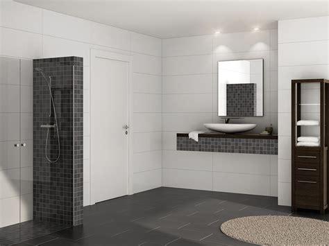 badezimmer anthrazit dusche fliesen anthrazit gispatcher