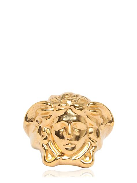 versace medusa ring gold fashion jewelry rings versace