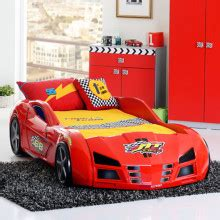 race auto bed autobed misterbed