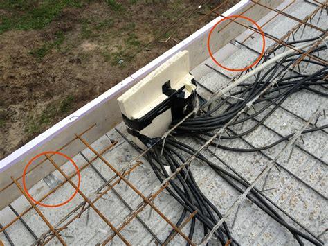 Kabel Durch Decke by Fast Ein Elektrischer Supergau Unser Hausbau Mit Der
