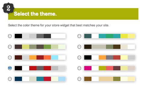 colour themes website how to create a cd baby music store widget diy musician blog