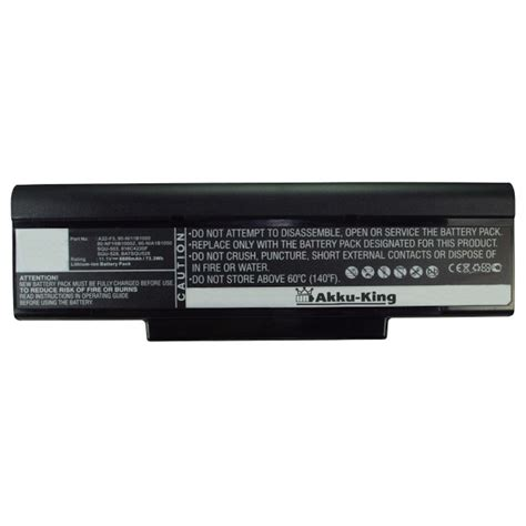 Asus A9 F2 F3 F3r M51 S62 S96 Z53 Z9t Z94 Z96 A32 F3 6 Cell akku f 252 r asus serie a9 f2 f3 m50 m51 s62 s96 z53