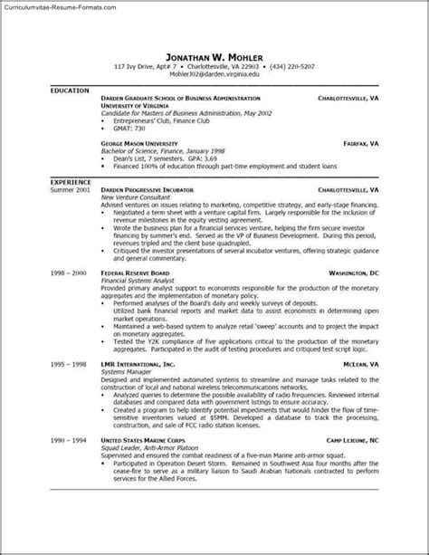 successful resume formats effective resume templates word free sles exles