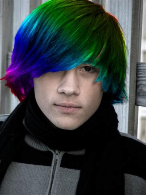 can hair dye be used on lillte boy hair emo style hair colors and hairstyles for girls and boys