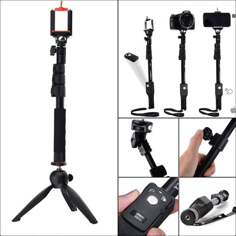 jual tongsis bluetooth yunteng yt 1288 mini tripod yunteng high quality uzi mart