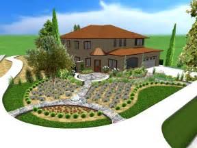 Craftsman Front Yard Landscape » Home Design 2017