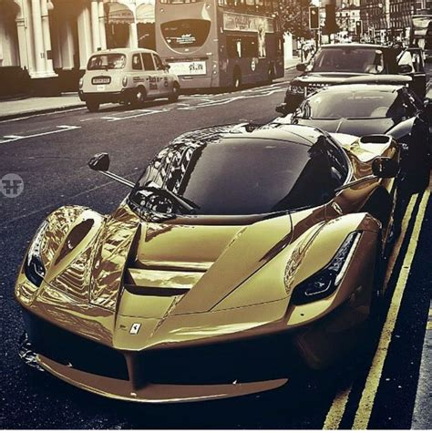 golden laferrari 17 best images about laferrari on cars