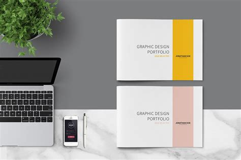 Graphic Design Portfolio Template Brochure Templates Creative Market Portfolio Templates