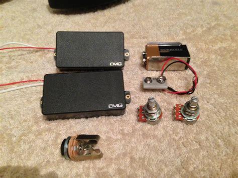 Emg Guitar Emg 81 Black emg 81 black image 719243 audiofanzine