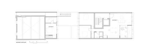 second floor extension plans boutique apartment building design idea from long narrow