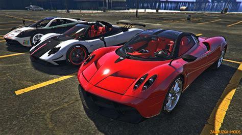 pagani gta 5 pagani cars dlc add on v1 0 for gta 5 187 download game