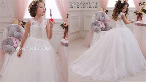 imagenes de vestidos de novia lindos los vestidos de comunion mas bonitos youtube