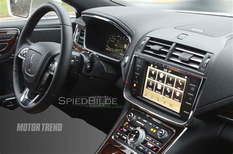 lincoln 2017 inside 2017 lincoln continental interior spied with shiny wood trim