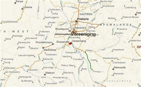 map of vereeniging vereeniging location guide