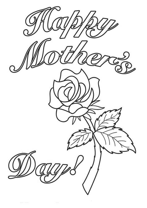 happy mothers day coloring page happy mothers day coloring pages