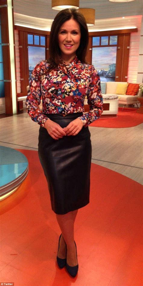 Gmb Blouse fans fawn susanna s leather pencil skirt on gmb compliments leather skirts and