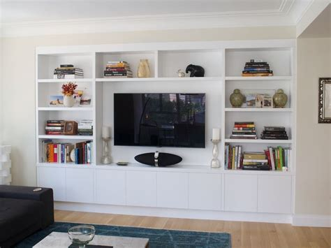 built in tv furniture custom television built in wall units cabinet