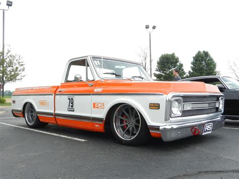 the roadster shop s 70 chevy c 10 truck on forgeline rb3c