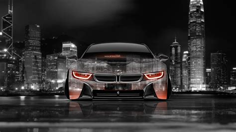 Bmw Sports Car Wallpaper With Purple Background With by Bmw I8 Wallpaper 4k Wallpapersafari