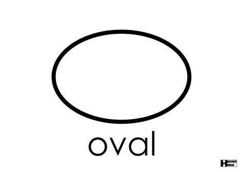 the oval oval object colouring pages