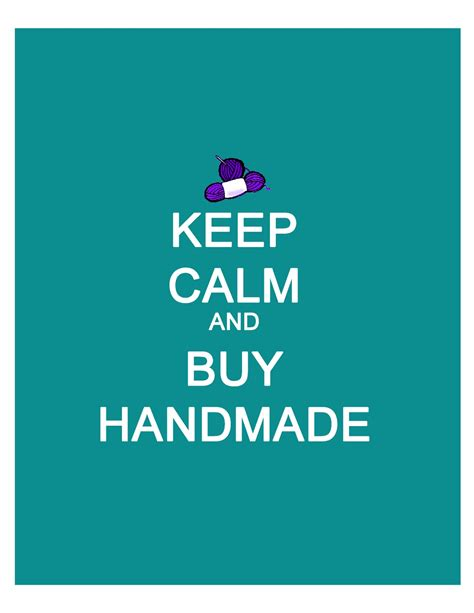 Buy Handmade - a s two cents worth while they are napping more