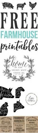 free farmhouse printables for your home the mountain
