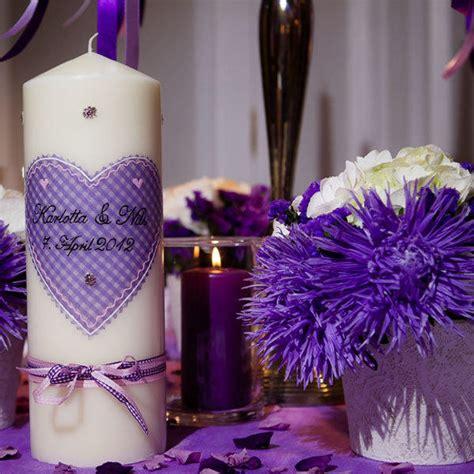 Hochzeitsdeko Lila by Hochzeitsdeko Tischdekoration In Lila