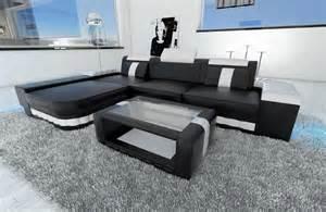 design led l sofas ledersofa designersofa bellagio led l form