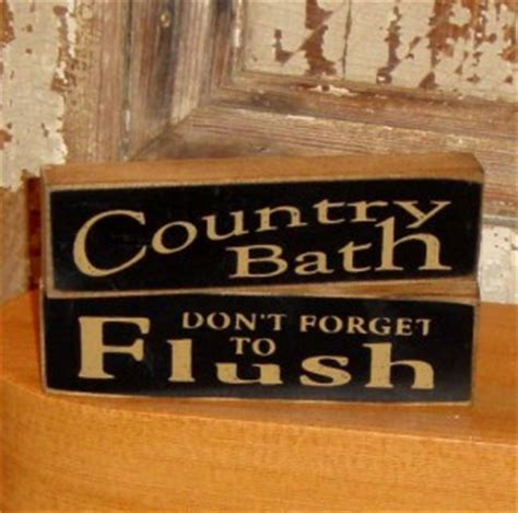 decorative bathroom signs home primitive bathroom sayings and quotes quotesgram