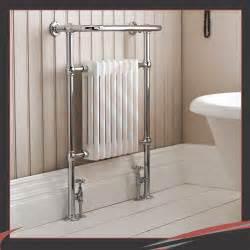 high btus traditional designer chrome heated towel rails