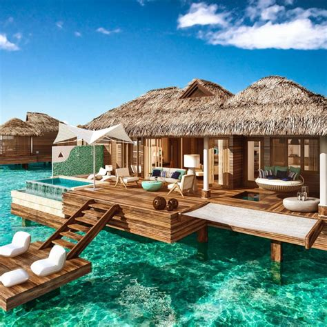overwater bungalows punta cana all inclusive weddings now destination weddings
