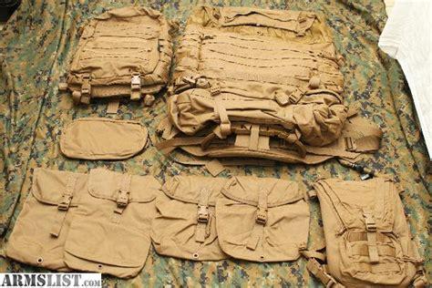 usmc pack for sale armslist for sale usmc filbe pack backpack complete system usmc 29 59 shipping
