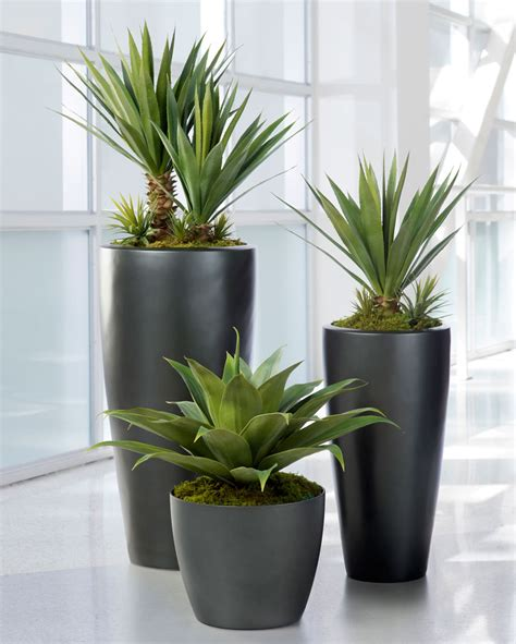 large agave americana artificial plant at silkflowers com