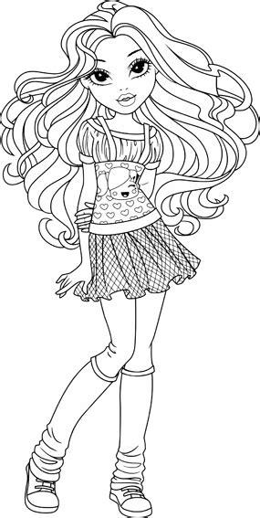 moxie girlz coloring page moxie girlz bratz coloring