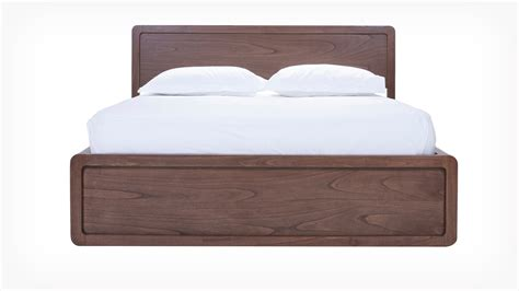This Bed Is On by Eq3 Burrows Panel Bed