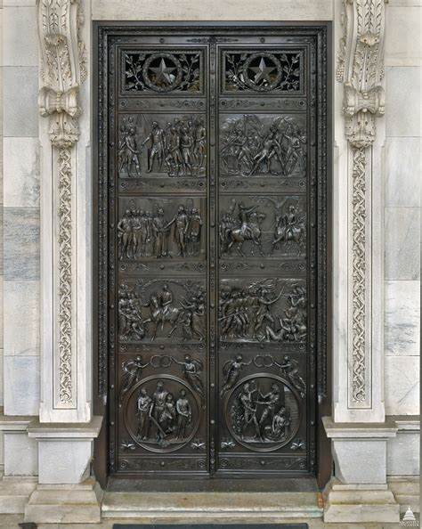 Bronze Door by Senate Bronze Doors Architect Of The Capitol United