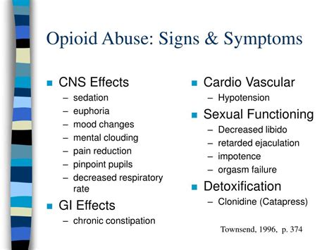 Opiod Detox Symptoms by Ppt Substance Related Disorders Dual Diagnosis