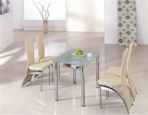 Small Glass Dining Tables Rimini Glass Dining Table Rimini Glass Dining Table And Chairs