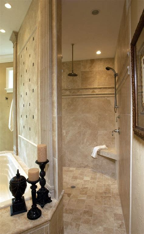 walk through shower walk through shower bathroom traditional with tiled shower