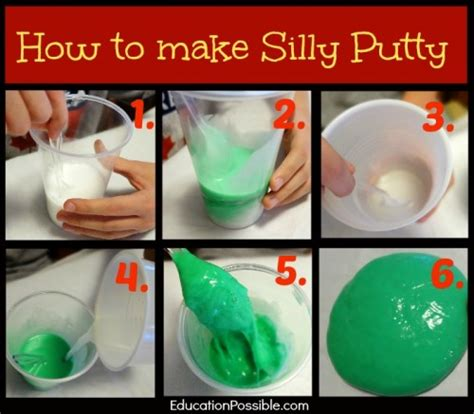 diy silly putty without borax the benefits of mistakes lessons from silly putty