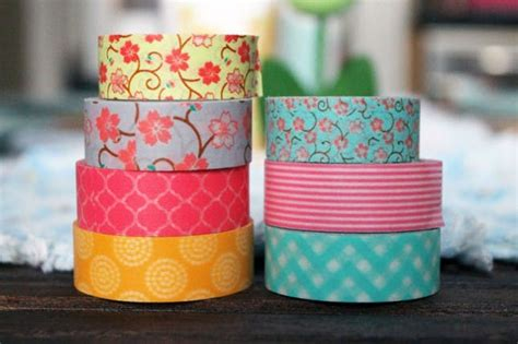 washing tape washi your table 4 quick projects for sunday brunch