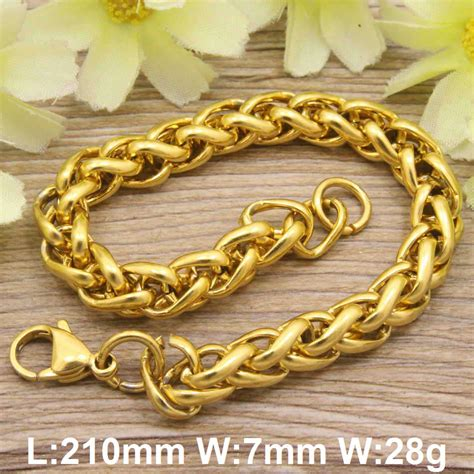 silver color and gold color s and popular fashion jewelry bracelets stainless