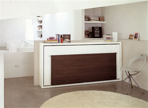 space saving desk bed the poppi desk is a space saving wall bed murphy bed