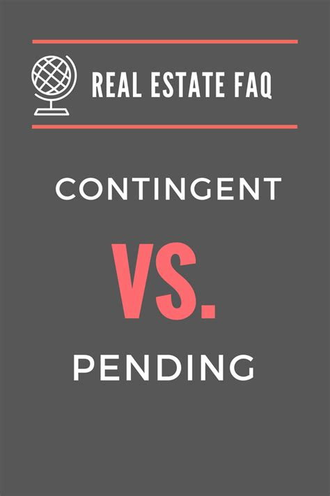 what do searches mean when buying a house real estate faq contingent vs pending