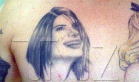 sandra bullock tattoo d tattoos